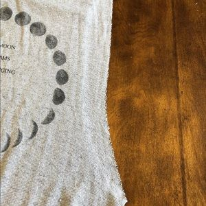Truly Madly Deeply Tops - NWOT Anthropologie Truly Madly Deeply Moon Tank L